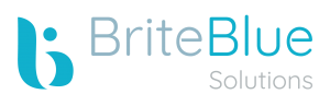 Logo Brite Blue Solutions